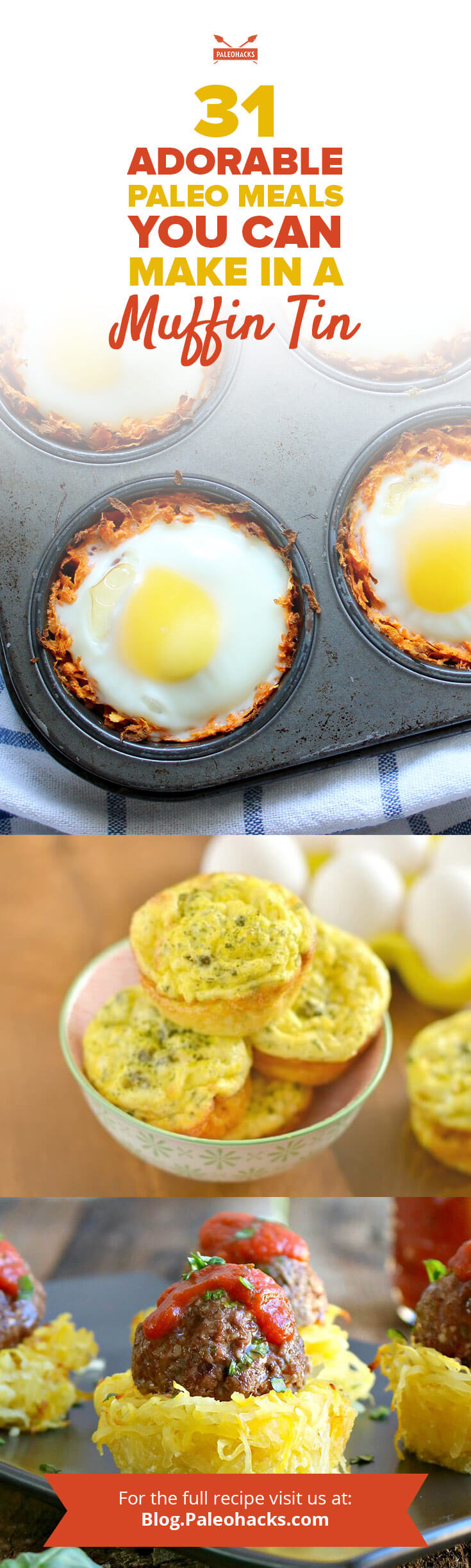 31 adorable paleo muffin tin meals paleohacks blog compilation pin 31 adorable paleo meals you can forumfinder Choice Image