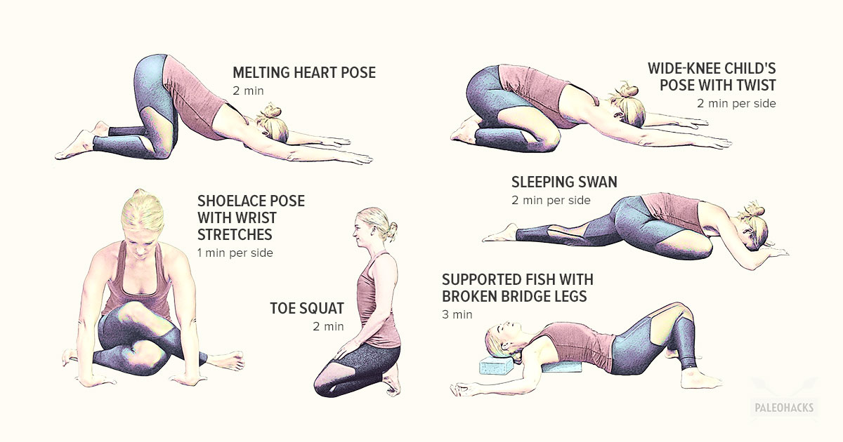 6 Yin Yoga Poses To Release Joint Pain Paleohacks